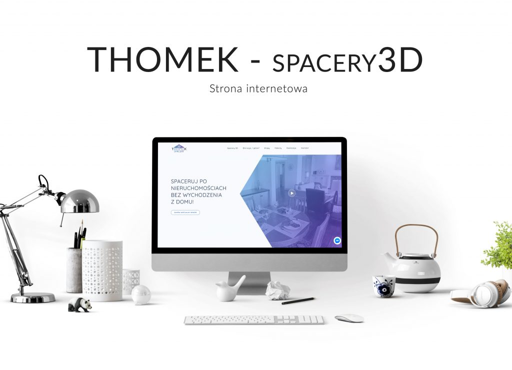strona internetowa - spacery3d